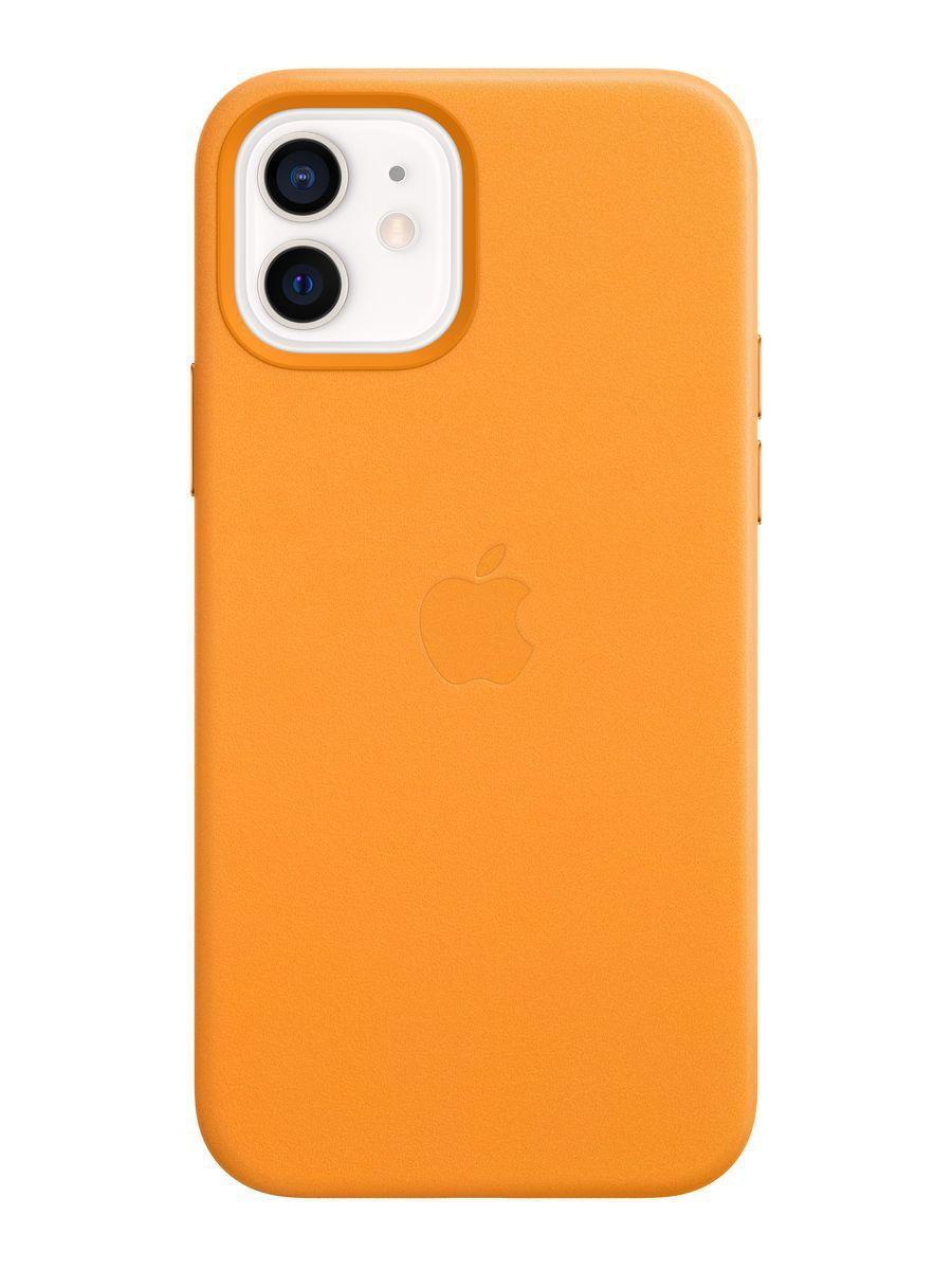 Оригинальный кожаный чехол для Apple IPhone 12/12 Pro с MagSafe - California Poppy
