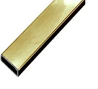 Трек для раздвижной системы DG-S-1 30х10х1,2. Длина 3000мм. | FGD-265 SUS304/TP | Золотая