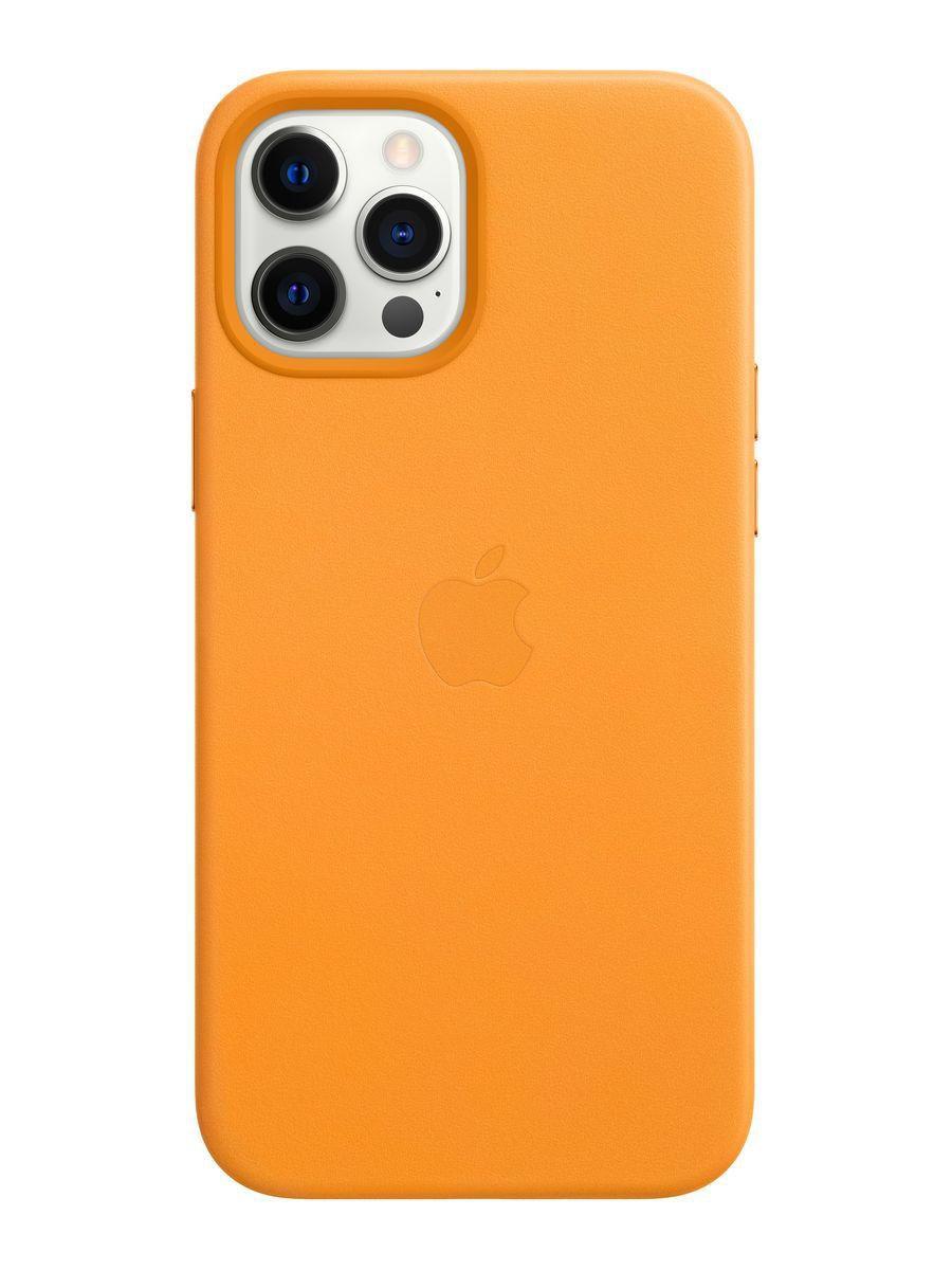Оригинальный кожаный чехол для Apple IPhone 12 Pro Max с MagSafe - California Poppy