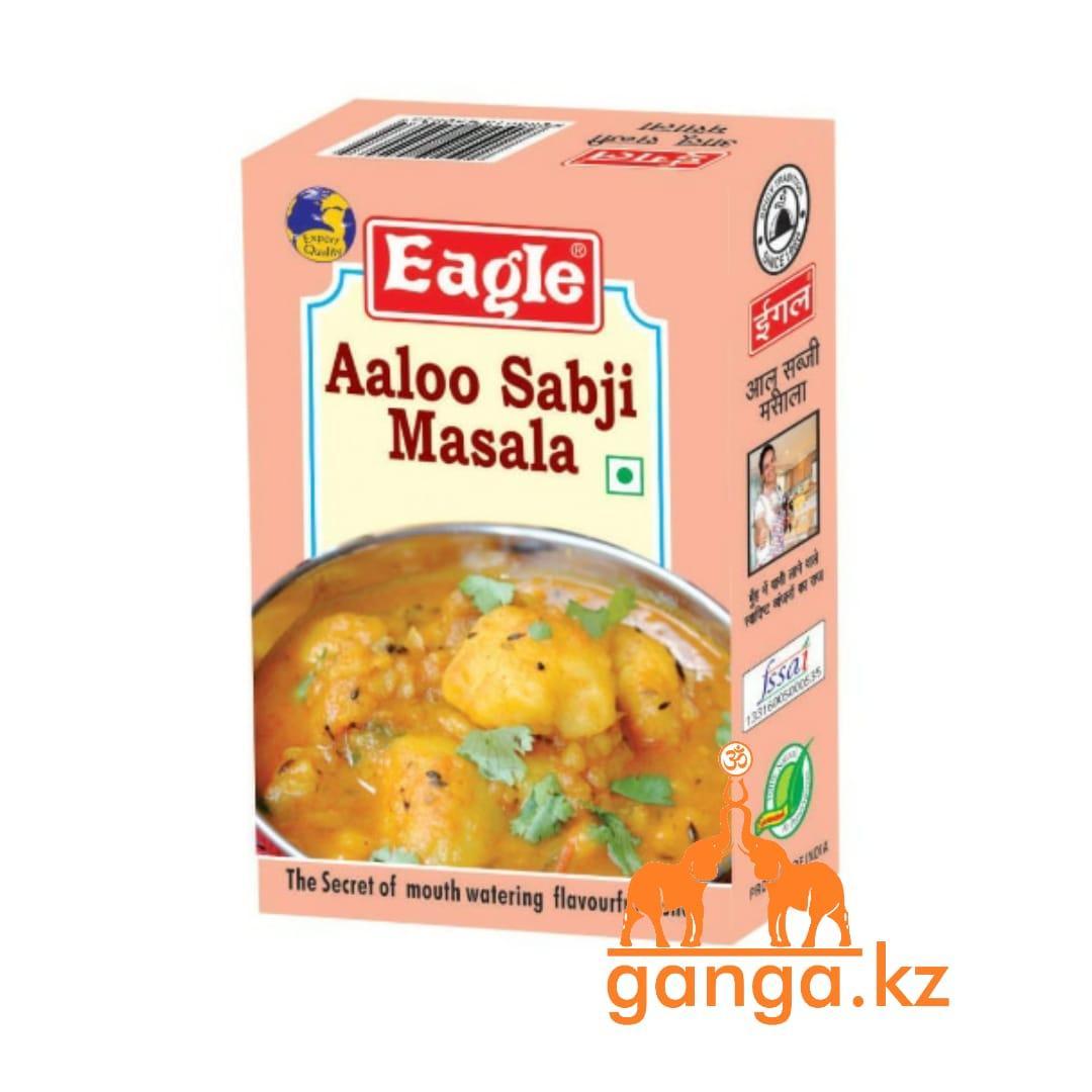 Смесь специй для картофеля и овощей Алу Сабджи Масала (Aaloo sabji masala EAGLE), 100 г.