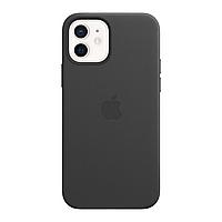 Оригинальный кожаный чехол для Apple IPhone 12/12 Pro с MagSafe - Black