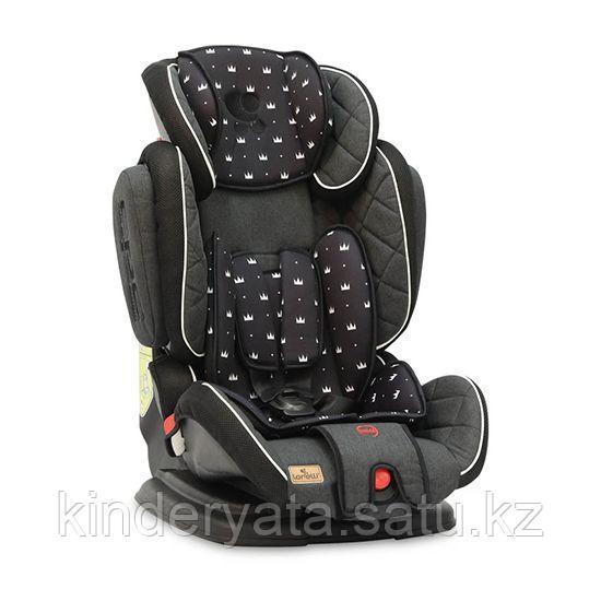 Автокресло Bertoni Lorelli Magic Premium Черный / Black Crowns 2013