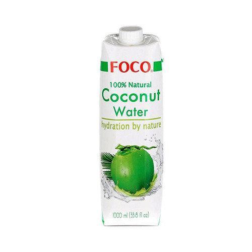 Органическая (BIO) кокосовая вода FOCO 1L