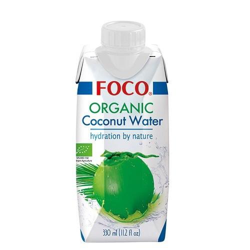 Органическая (BIO) кокосовая вода FOCO 330ml