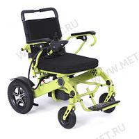 Мощное малогабаритное кресло-коляска с электроприводом, рама-алюминий MET Compact 35