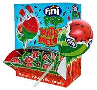 Леденец Финипоп FINI POP Watermelon вкус Арбуза с жевательной резинкой 5.5 гр. (100шт в упак)