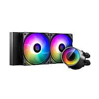Кулер с водяным охлаждением Deepcool CASTLE 240 RGB V2, фото 1