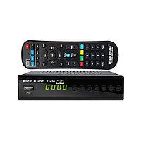World Vision T624A - эфирный цифровой HD ресивер ТВ сигналов DVB-T/T2/C
