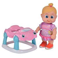 Игрушка Bouncin' Babies Кукла Бони 16 см с машиной, дисплей