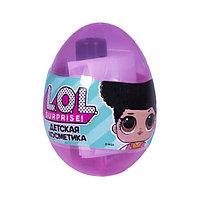 LOL Детская декоративная косметика в яйце мал. (дисплей)