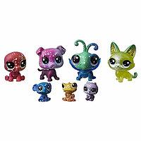 Набор игрушек Hasbro LPS 7 космических ПЕТА