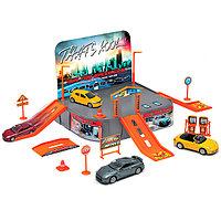 Игрушка игровой набор Гараж, включает 1 машину