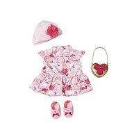Игрушка Baby Annabell Одежда Цветочная коллекция Делюкс, кор.