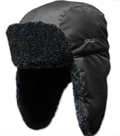 Шапка-ушанка Kosadaka Arctic, искуственный мех меланж, чёрная