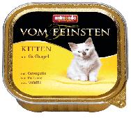 Консервы для котят с домашней птицей, паштет Vom Feinsten - 100 гр