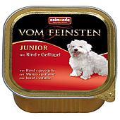 Консерва для щенков, с говядиной и домашней птицей - 150 г