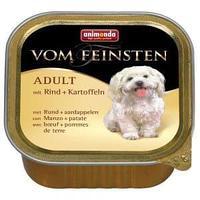 Консерва для собак, с говядиной и картофелем - 150 гр