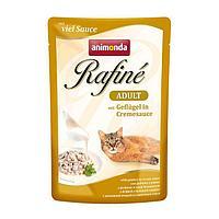 Refine Суп для взрослых кошек с домашней птицей в сливочном соусе
