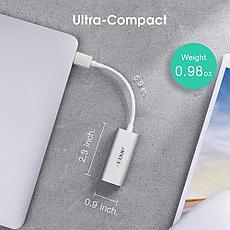 Конвертер USB-C на LAN RJ-45,1000 Mbps EDUP | Адаптер Переходник Ethernet, фото 2