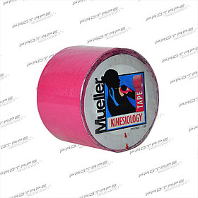 Кинезио тейп Mueller Kinesiology Tape Pink 5 х 5 (6 шт.), 28277K, розовый цвет, 5.0см размер