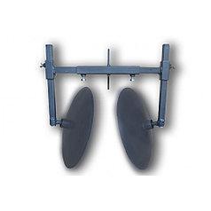 Окучник дисковый для мотоблока на рамке (диски ф 400мм на двух подшипниках)