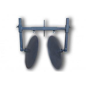 Окучник дисковый для мотоблока на рамке (диски ф 400мм на двух подшипниках), фото 2