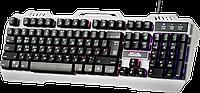 Defender 45140 клавиатура игровая проводная Metal Hunter GK-140L, RGB подсветка,19 Anti-Ghost