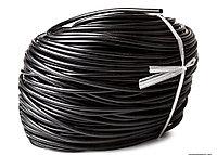 Шланг силиконовый черный (4/6 мм)