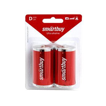 Батарейка алкалиновая Smartbuy LR20-2BL (D 1,5V)