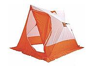 Палатка Следопыт PF-TW-19 - цвет: белый-оранжевый