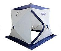 Палатка Следопыт PF-TW-09/10 - цвета: белый-синий и белый-оранжевый