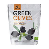 Gaea Greek Olives. Органические Цельные Оливки Каламата, 150 гр