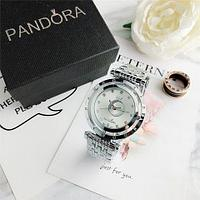 Подарочный комплект Pandora In The Moon 6861Z {часы + браслет + подвеска} (Серебряный)