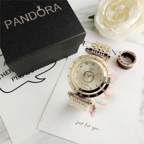 Подарочный комплект Pandora In The Moon 6861Z {часы + браслет + подвеска} (Серебряный) - фото 2
