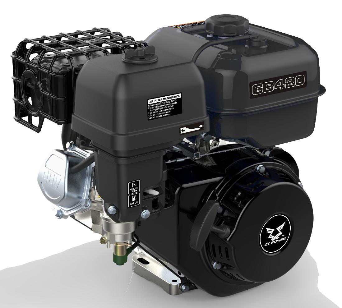 Бензиновый двигатель Zongshen GB420E