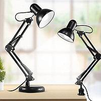 Лампа настольная 811 2 в 1 на подставке и струбцине, фото 1