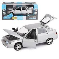 Машина металлическая 'ВАЗ 2112', инерция, открываются двери, капот и багажник, цвет серебро