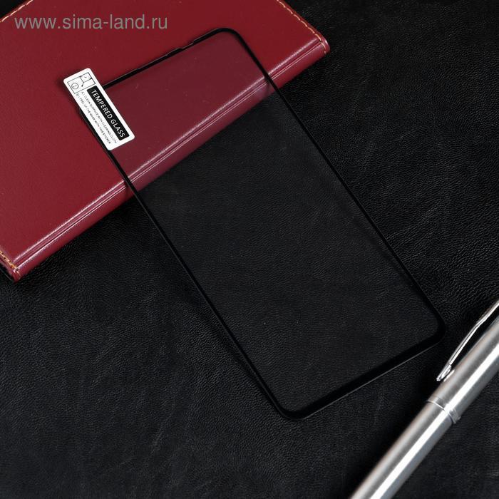 Защитное стекло Red Line для Huawei Honor 20/20 Pro/Nova 5T, Full screen, полный клей,черное - фото 1