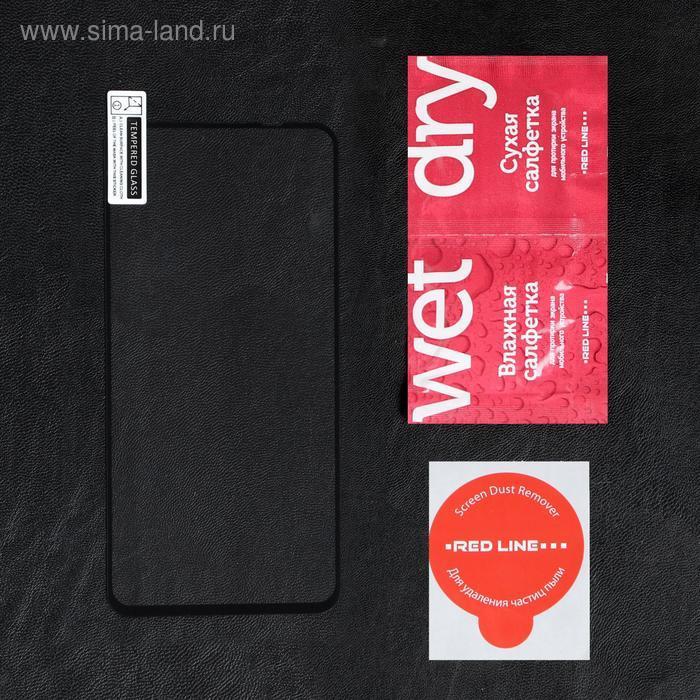 Защитное стекло Red Line для Huawei Honor 20/20 Pro/Nova 5T, Full screen, полный клей,черное - фото 2