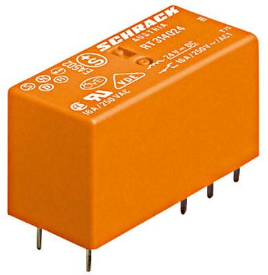 Реле 16А, катушка 12В постоянного тока