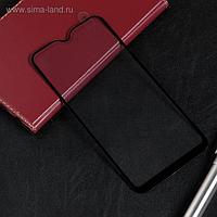 Защитное стекло Red Line для Samsung Galaxy A01, Full Screen, полный клей, черное