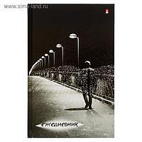 Ежедневник недатированный А5, 128 листов «Город ангелов», твёрдая обложка, глянцевая ламинация, блок офсет