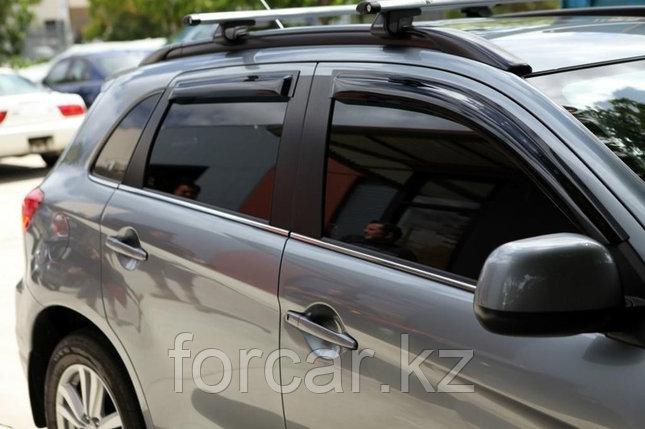 Дефлекторы боковых окон для Audi Q5 2008-, фото 2