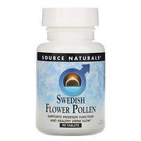 БАД для мужчин Шведская цветочная пыльца от Source Naturals (90 таблеток)