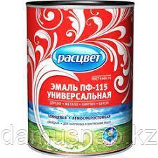 Эмаль ПФ-115 красная 2,7 Расцвет