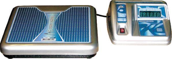 Весы ВМЭН-150 питание от сети переменного тока и выносным пультом управления