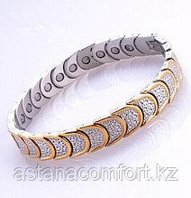 Шикарный женский  браслет для здоровья «Квадро» 4 в 1.
