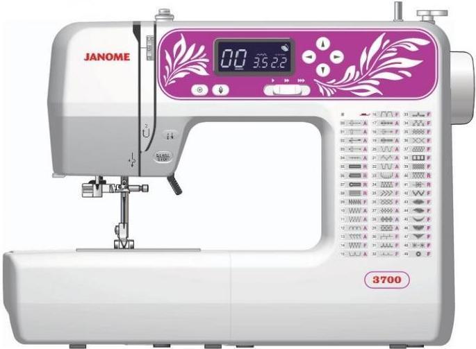 Компьютеризированная машина Janome 3700