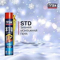 Пена монтажная TYTAN STD с аппликатором зимняя, -10°C