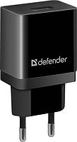 Зарядное устройство сетевое Defender EPA-10, 1хUSB, 5V/2.1А, черный